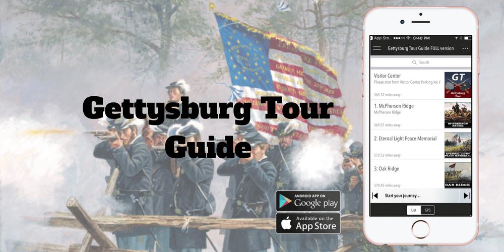 Gettysburg Tour Guide App