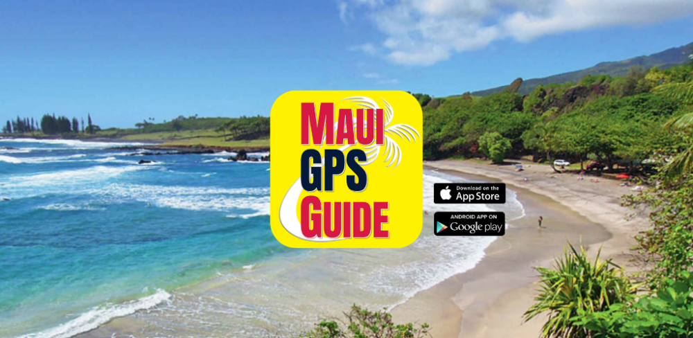 Maui GPS Guide Graphic